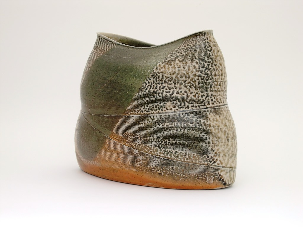 Mandy Parslow, Wrapped Elliptical Vessel, 2013