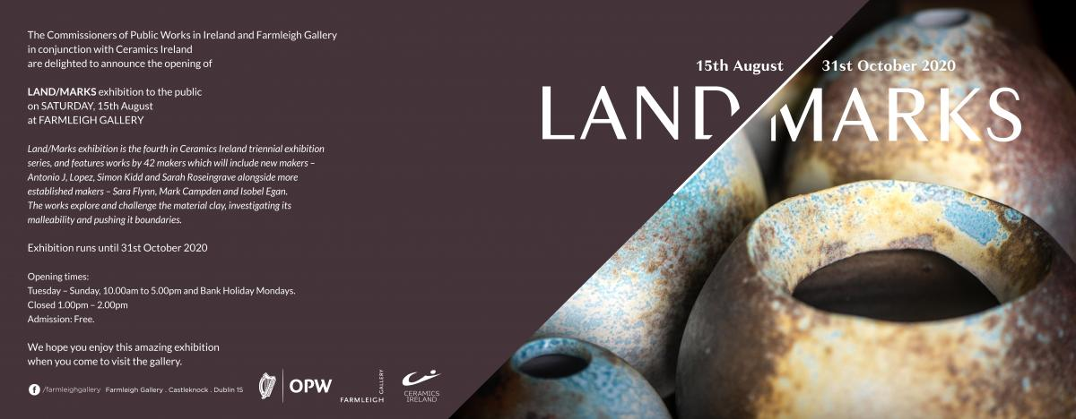 Land/Marks exhibition Farmleigh Gallery 2020