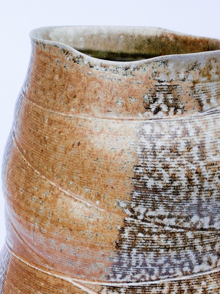Mandy Parslow Martinsons Award exhibition. Salt-glazed stoneware.