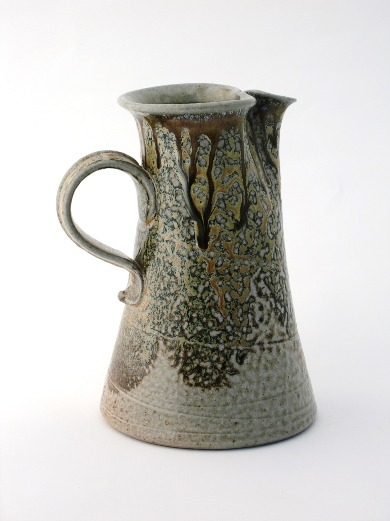 Mandy Parslow, Stoneware Ceramics, Pottery Jug, Glen of Aherlow, Co. Tipperary, Ireland.